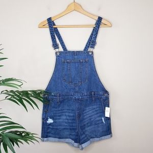 NWT Old Navy | Denim Overall Shorts